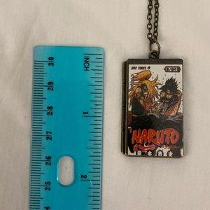 Naruto anime comic book necklace